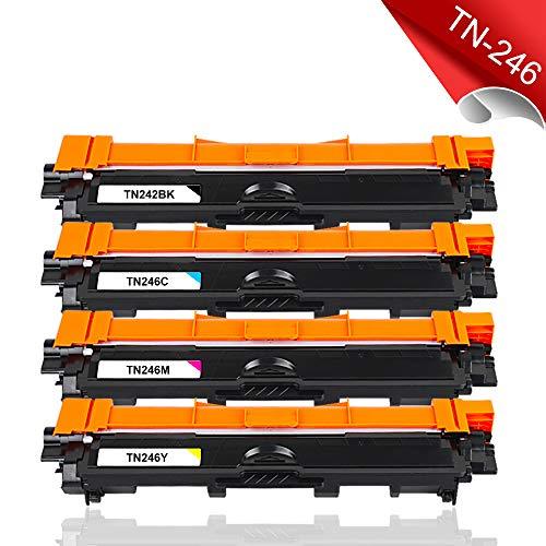 Blitzangebot   5er Pack Ersatz-Toner Brother TN-242 TN-246