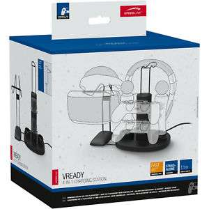 Ebay / SPEEDLINK VREADY 4-In-1 PS4 Playstation 4 VR Ladestation Controller Netzteil für 19,99 Euro inkl. VSK