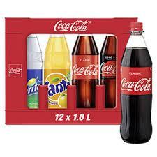 Coca-Cola, Fanta, Sprite, der Kasten mit 12 x 1 Liter-Flasche für 7,99 Euro [Globus Wiesbaden]