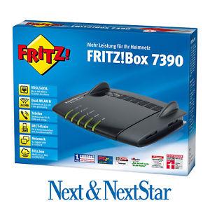 ebay Fritzbox 7390 gebraucht, Vom Hersteller generalüberholt