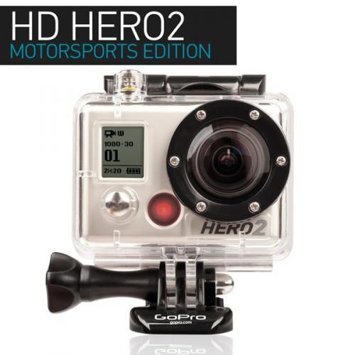 GoPro HD HERO2 Motorsports Edition für 179 Euro
