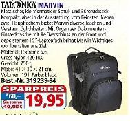 Tatonka Notebook-Rucksack, 25 €