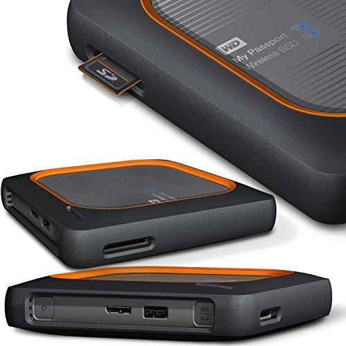 Amazon - WD My Passport Wireless SSD - mobile 500GB externe Festplatte