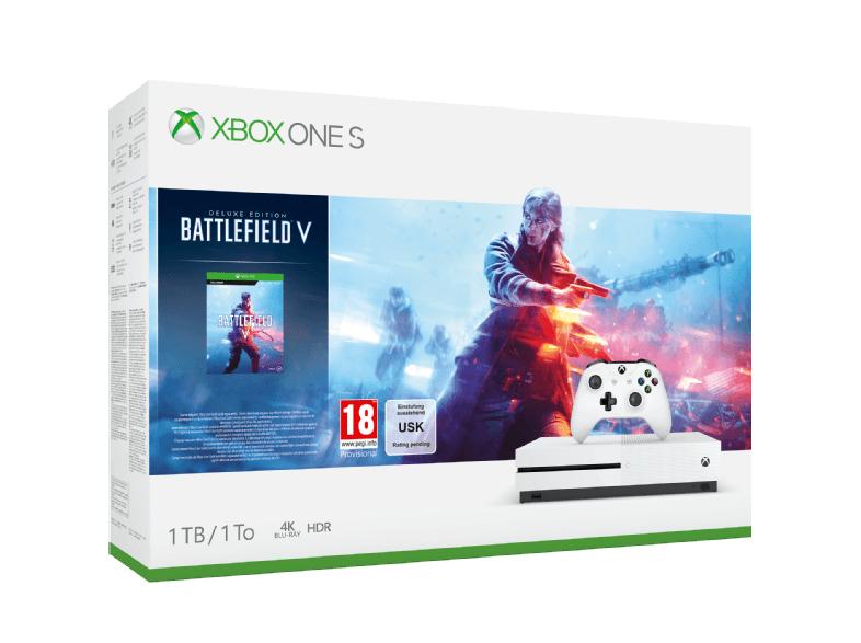 Xbox One S Battlefield Bundle (auch andere) + GRATIS Controller