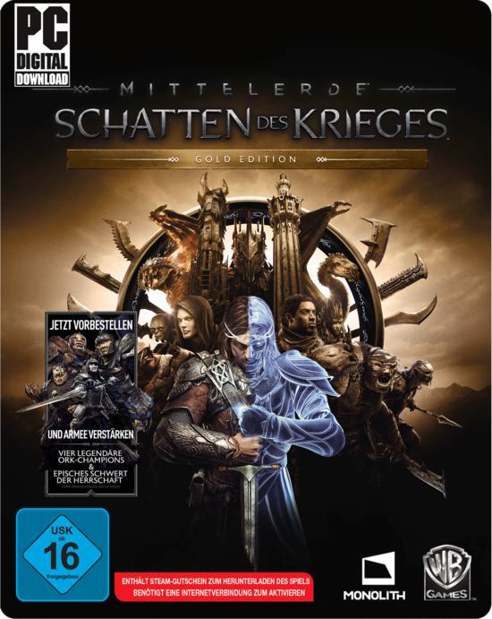 Mittelerde: Schatten des Krieges Gold Edition (PC) für 9,96€ (GameStop Filiale)