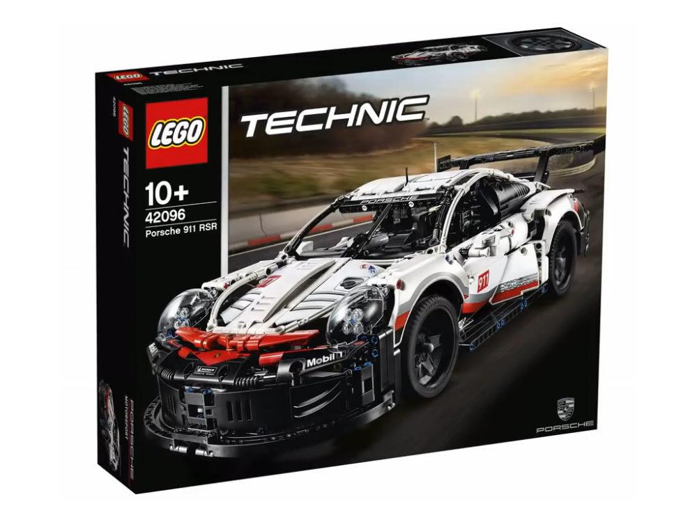 Metro - Lego Technic 42096 Porsche RSR