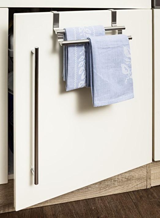 Handtuchhalter 2 Stangen Aufhängung Edelstahl
