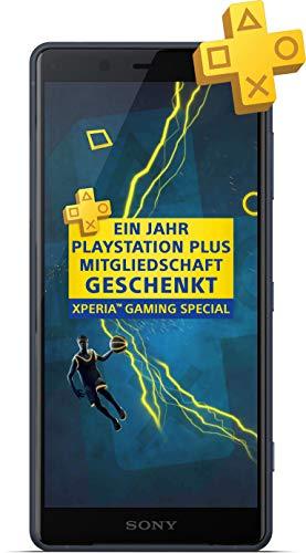 Sony Xperia XZ2 Compact (5,0 Zoll), Snapdragon 845, 4GB RAM + 64 GB, Dual-SIM, IP68, USB-C, Android 9.0 + 1 Jahr PS Plus