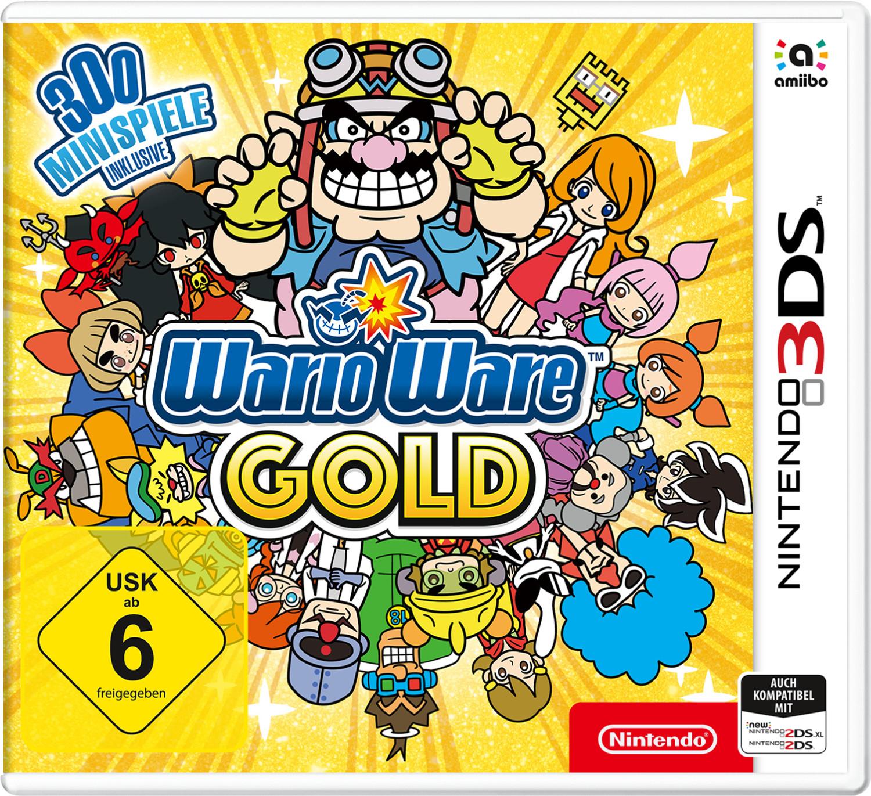 15% Rabatt auf alle 3DS Spiele bei Müller: z.B. WarioWare Gold & Luigi's Mansion (3DS) für je 25,50€