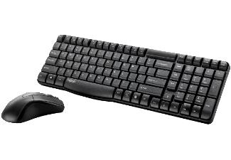RAPOO 11567 X1800, Tastatur und Maus, Kabellos [MediaMarkt & Amazon Prime]