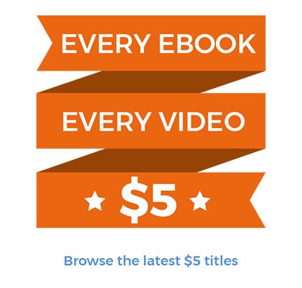 Jedes EBook und jedes Video für nur je 5,22 €