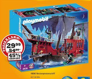 [VEDES/Spielzeugring] Playmobil  Geisterpiratenschiff (4806)