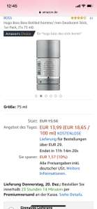 Hugo Boss Boss Bottled homme/ men Deodorant Stick, 1er Pack, (1x 75 ml)