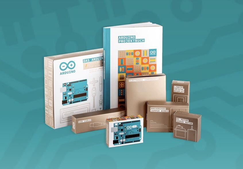 Arduino-Starter-Kit (Anfänger Set inkl. original Arduino UNO rev. 3)