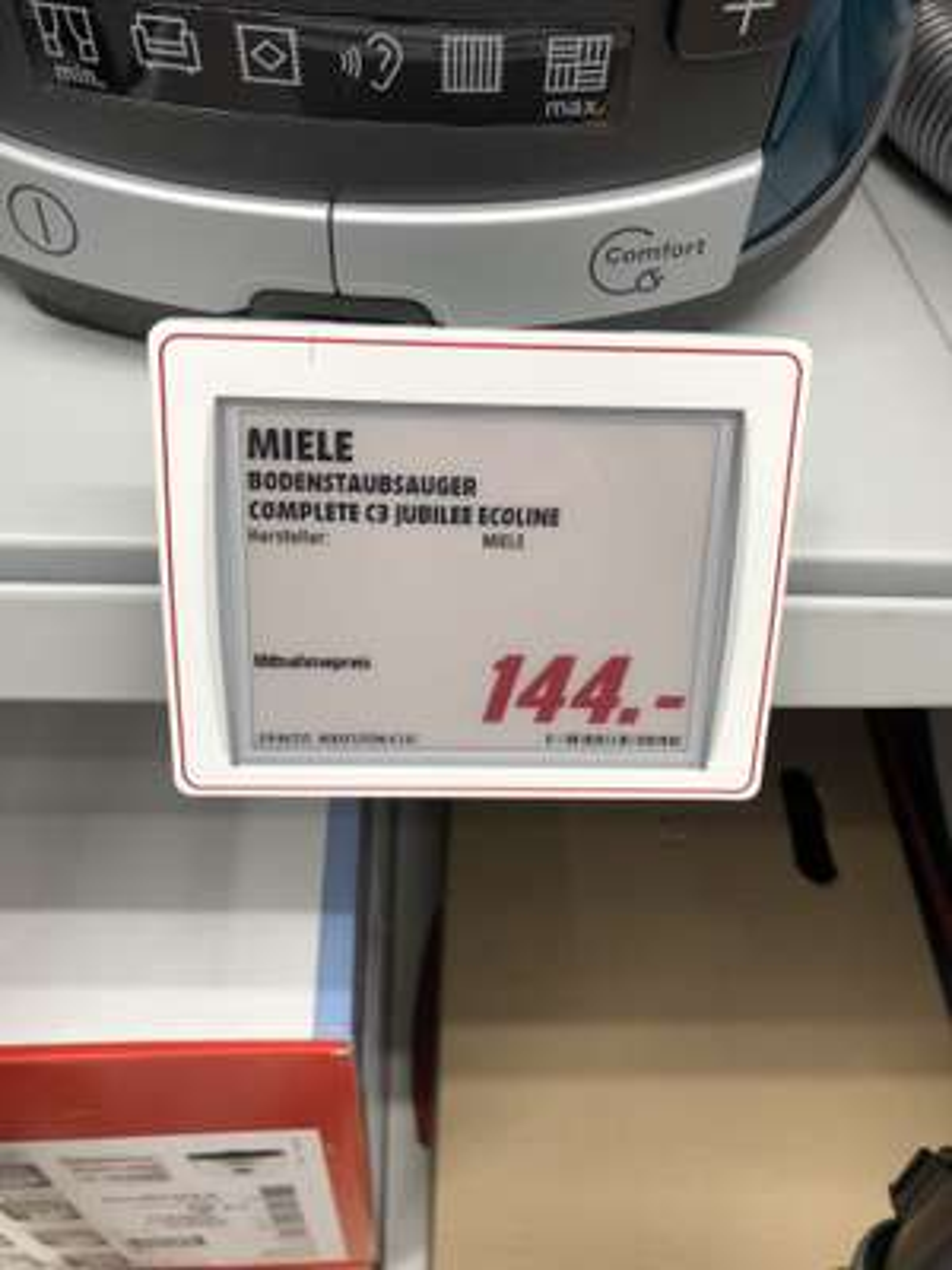 [Lokal Berlin MM Alex] Miele Staubsauger Complete C3 Jubilee Ecoline