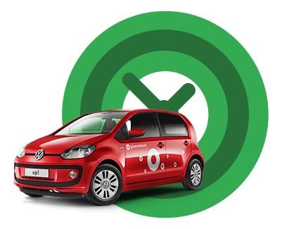 Greenwheels (Carsharing): 20€ Fahrtguthaben auf die erste Fahrt