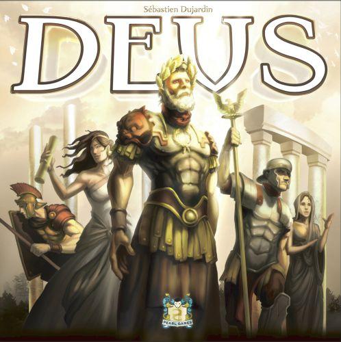 Deus Brettspiel (Aufbau / Area-Control)