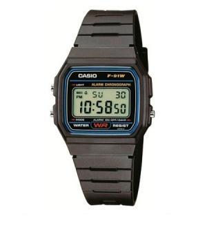 Casio F-91W digitale Armbanduhr nur 6,95€ inkl. Versand