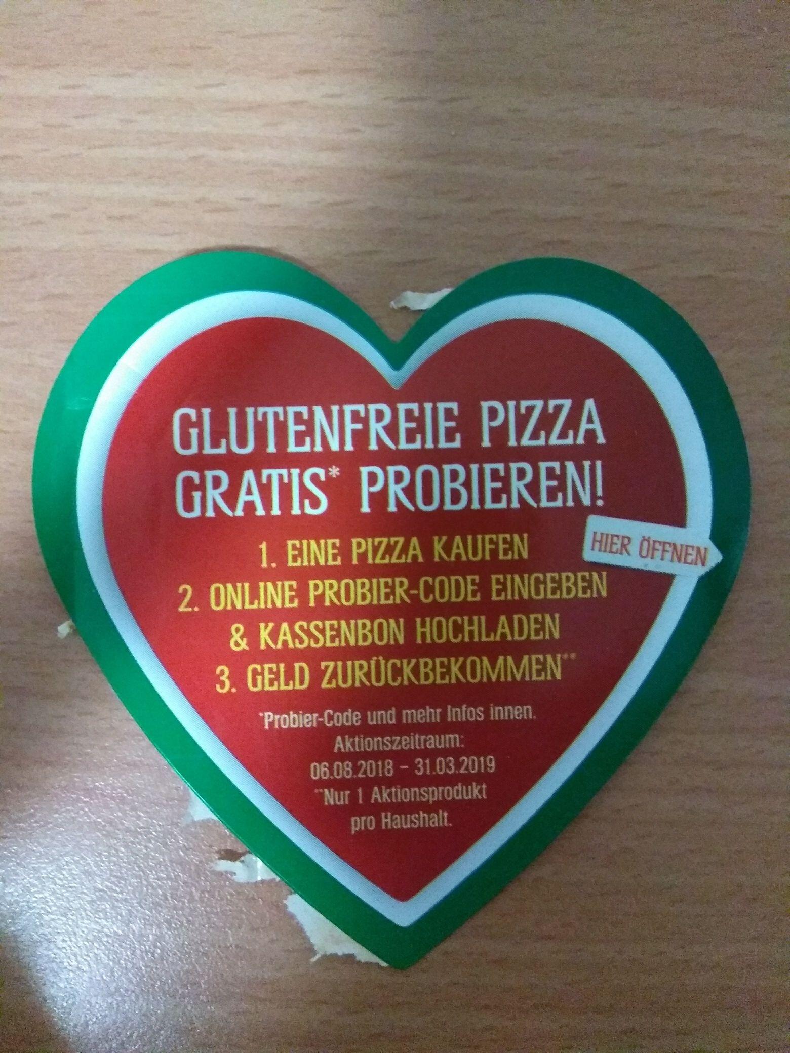 Schaer glutenfreie TK Pizza gratis probieren (Geld zurück) [offline]