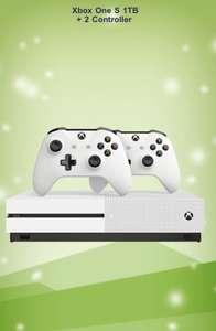 MICROSOFT XBOX ONE S 1TB + 2 CONTROLLER mit Code