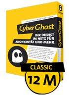 CyberGhost VPN  Classic  für 1 Jahr Premium kostenlos!!Giveaway@cnet/Download.com!!