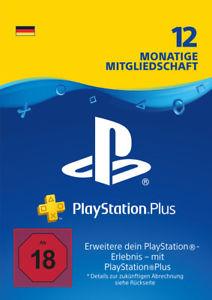 PlayStation Plus 12 Monate Mitgliedschaft [Medion Digital eBay]