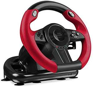 speedlink trailblazer racing wheel gaming lenkrad. Black Bedroom Furniture Sets. Home Design Ideas
