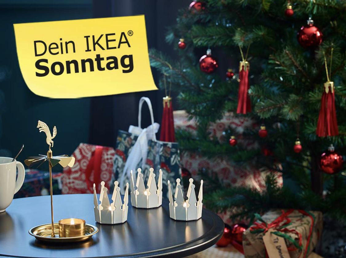 [LOKAL IKEA BERLIN] am 23.12. LILLABO Eisenbahnset 4,99€ und ab 21.12. Winterdeko 2018 2für1