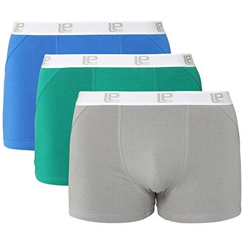 [Amazon Plusprodukt] Lower East Herren Boxershorts Retro 3er Pack XL