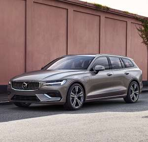 Volvo V60 T5 Inscription Geartronic (250 PS) - mtl. 159,76€ (netto) inkl. Service-Paket, Automatik, LF 0,37, 24 Monate [Gewerbeleasing]