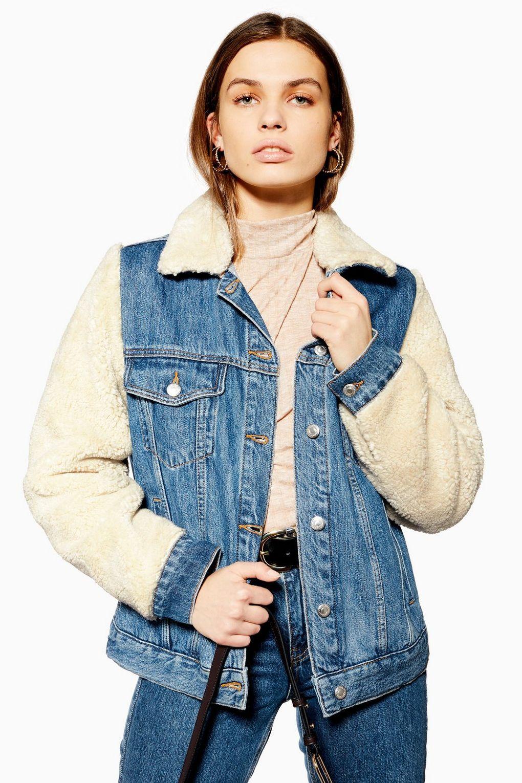 Großer Sale bei Topshop und Topman mit max. 60% Rabatt, z.B. Jeans-Teddy-Jacke