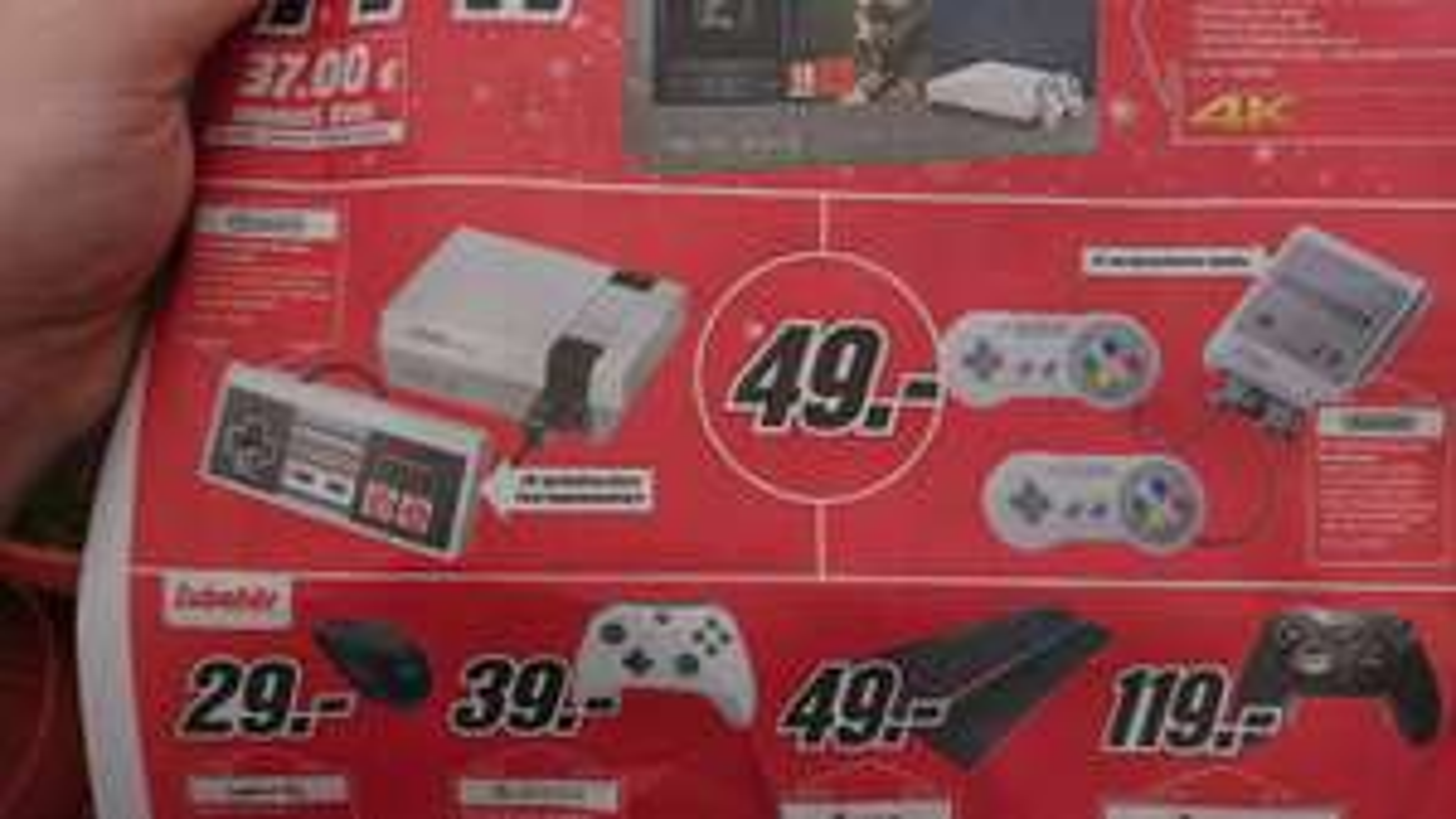 Lokal Media Markt Neunkirchen Saar Nintendo Snes und Nes Mini