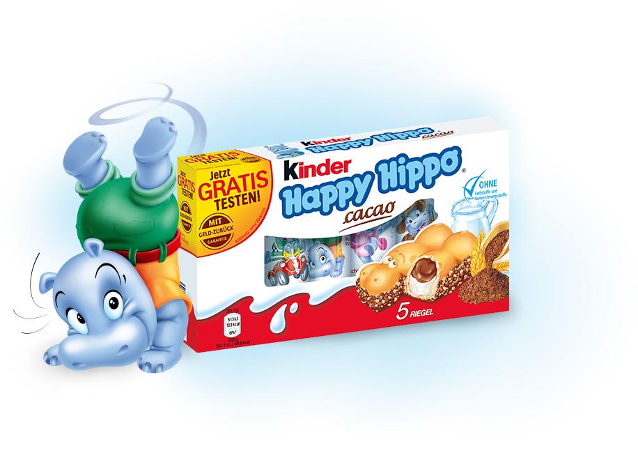 [GzG] kinder Happy Hippo cacao Gratis Testen