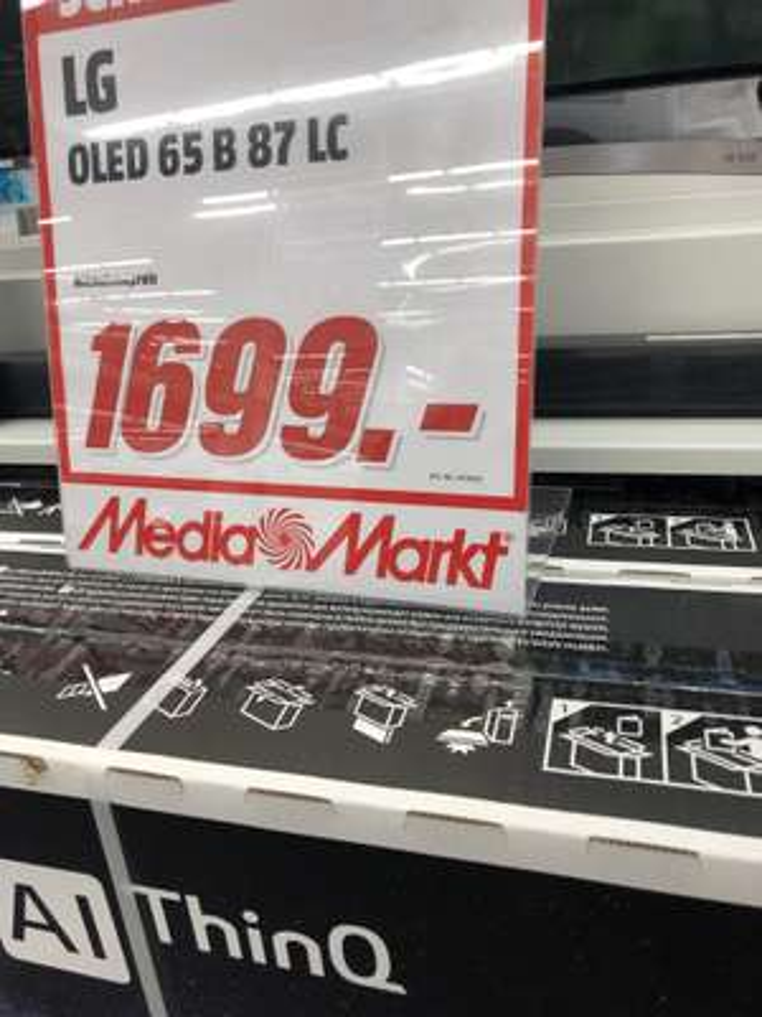 [Lokal Heilbronn] LG OLED 65 B87 LC