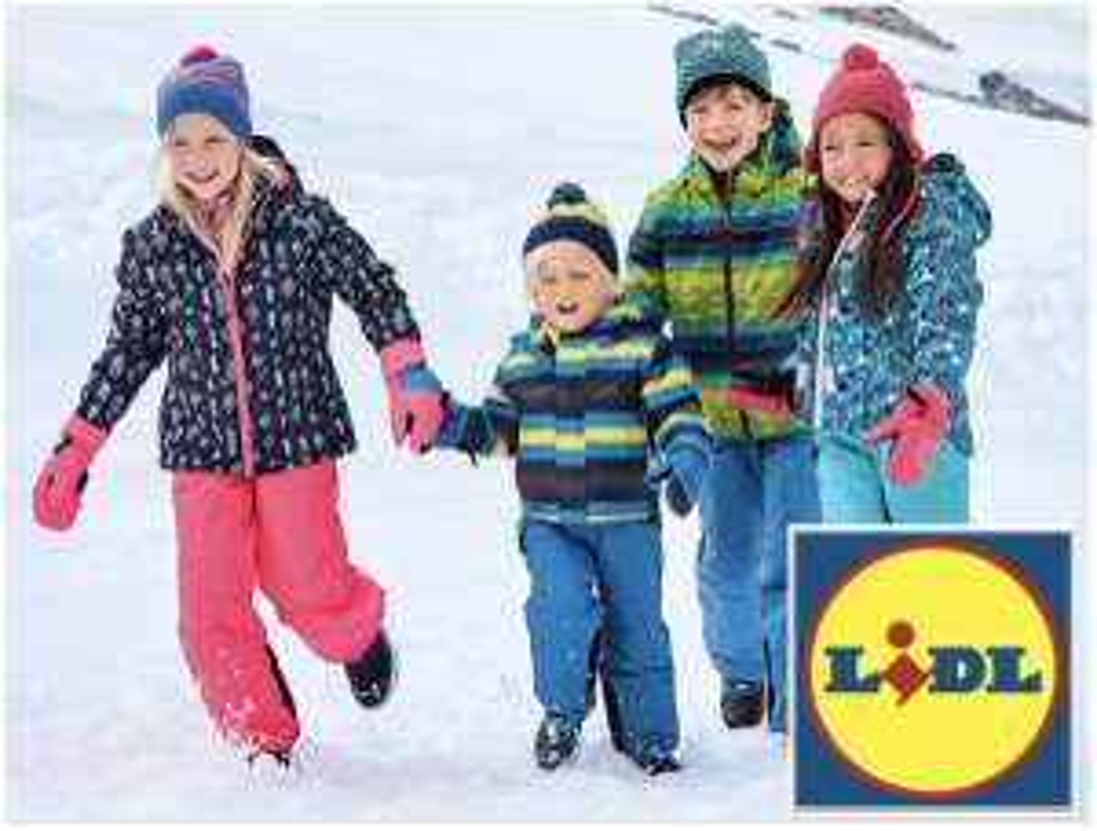 25€ Rabatt bei 40€ MBW für ausgewählte Skibekleidung für Mädchen u. Jungen im Lidl Onlineshop - nur heute!