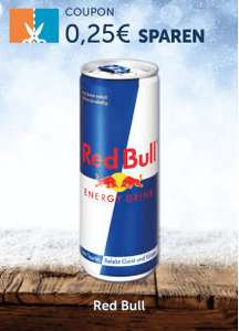 Couponplatz - Red Bull Energy Drink - 0,25 Euro sparen