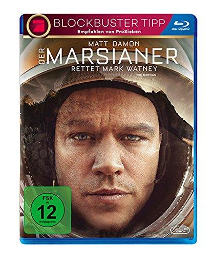 [Sammeldeal] -15% auf viele [Blu-rays] ; z.B. Der Marsianer - Rettet Mark Watney [Amazon Prime] + u.U. Kinoticket gratis dazu!