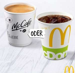 8436 Mc Donalds´s Feedback Codes Gratis Softdrink oder Kaffee Freebie