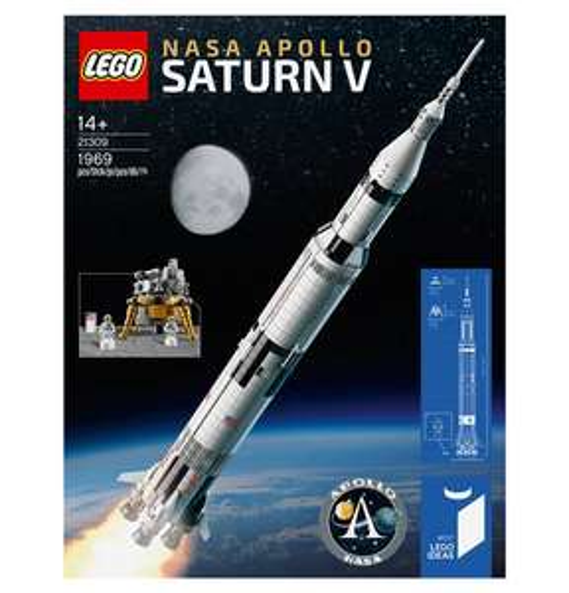 [Payback + NL Gutschein] Lego Nasa Apollo Saturn V 21309