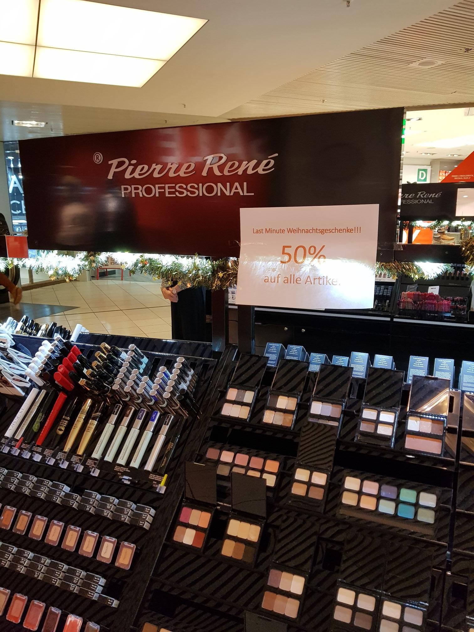 Pierre Rene Professional Kosmetik 50% auf alles  [Lokal Nürnberg Frankencenter]
