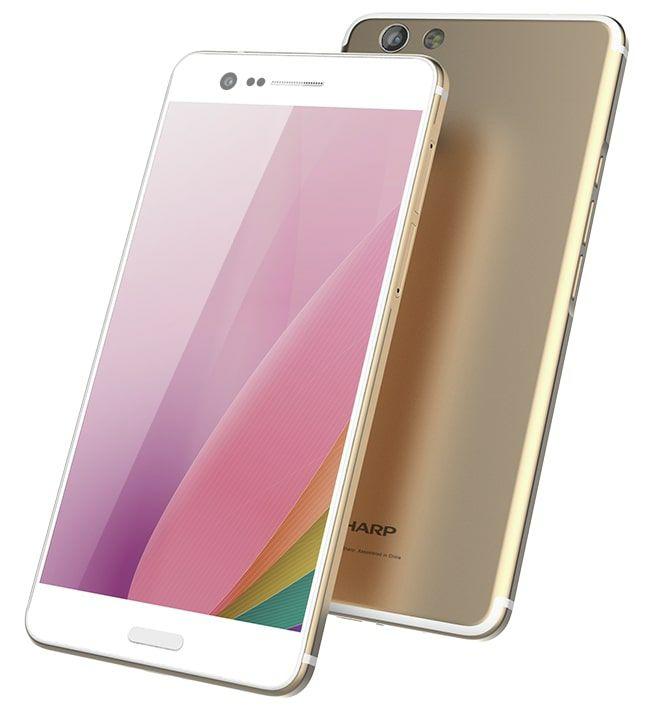 """Sharp Z3 64/4GB - Snapdragon 652 - 5,7"""" WQHD 2K Screen - 520nit - 16MP f/2.0 + 13MP f/1.8 - FM Radio - 24bit/192khz Audio - Kein Band 20"""