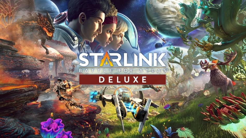 Starlink: Battle for Atlas - Deluxe Edition (Spiel + alle DLCs) für 38,32€ im russischen eShop (Nintendo Switch)