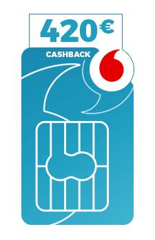 Holy Cash: Vodafone Data Go L mit 420€ Auszahlung oder Vodafone Data Go M mit 240€ Auszahlung