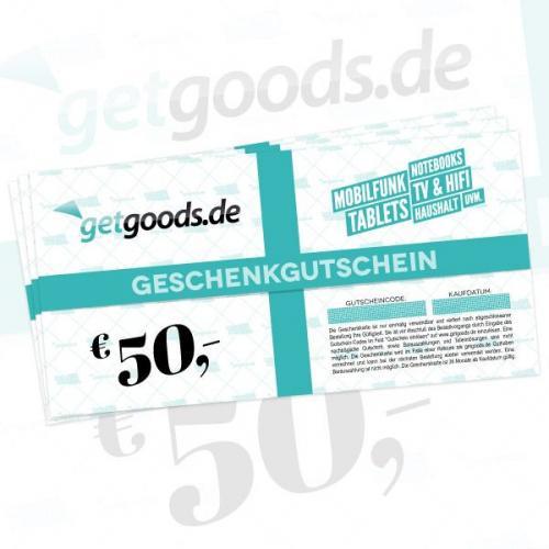 50€ getgoods.de-Gutschein für 40€ @getgoods.de