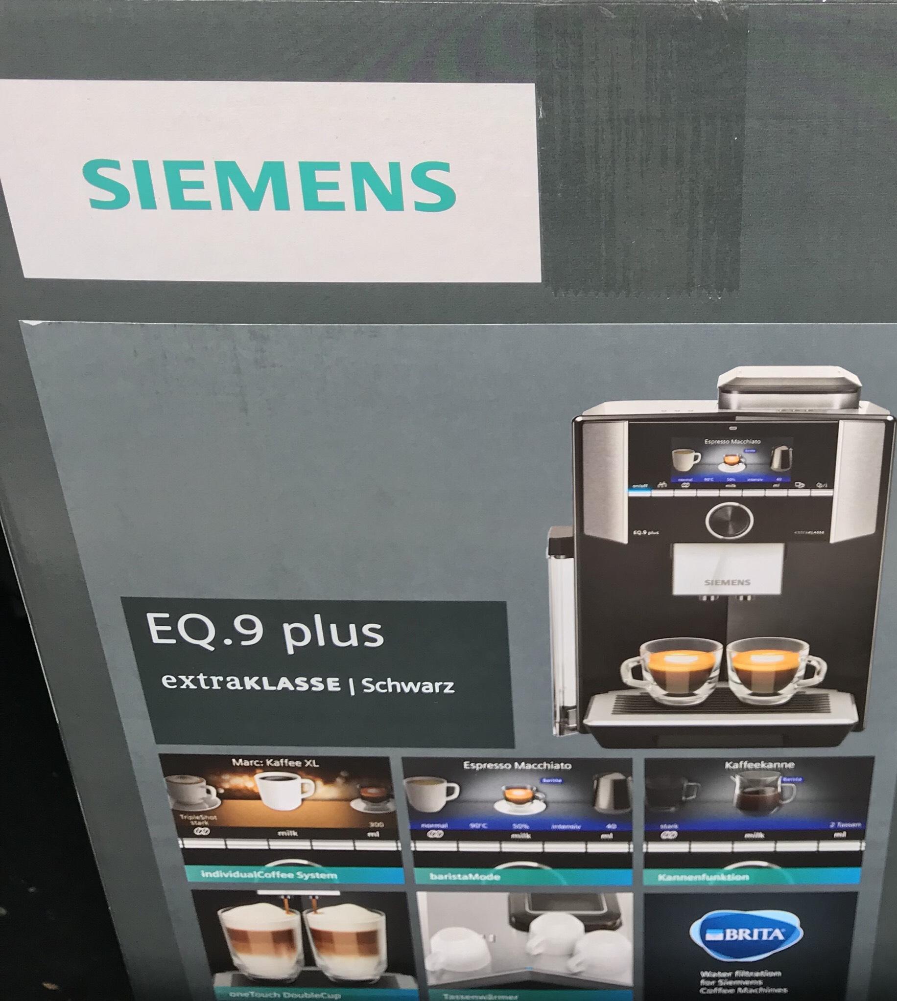 Siemens EQ9 s500 Extraklasse