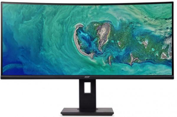 Acer ED347CKR (34 Zoll) Curved Ultrawide QHD (3440x1440) Gaming-Monitor, VA-Panel, 100Hz, FreeSync, 16.7 Mio Farben, 300 Nit, 8-Bit