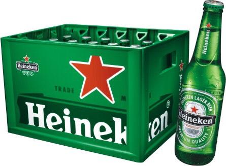 Grenzgänger Albert Heijn 24 x 0,3 ltr. Heineken Bier