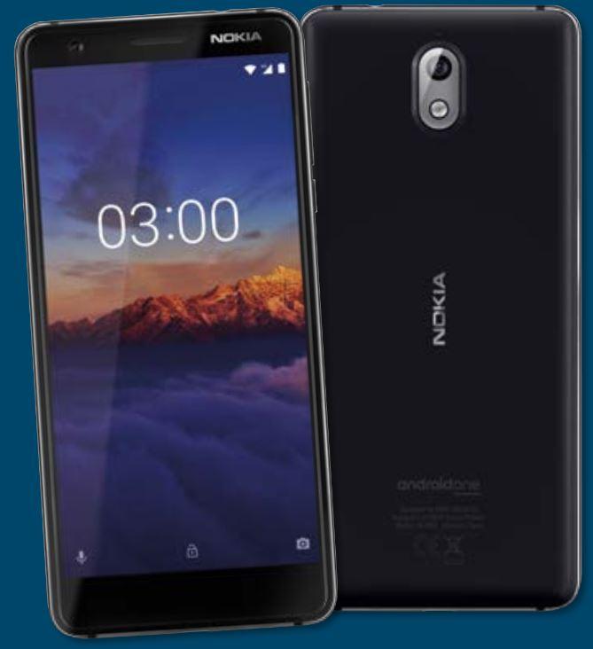 [ALDI Nord] Nokia 3.1 Smartphone inkl. 10 Euro Startguthaben AldiTalk PrePaid ab 27.12.2018