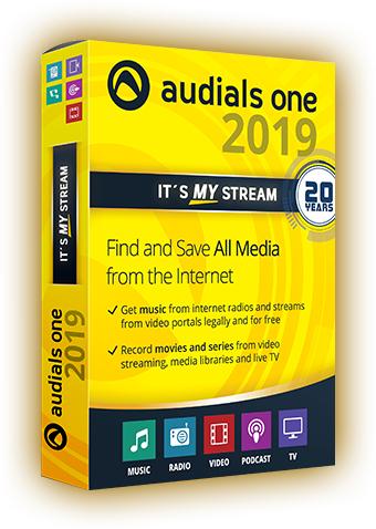 Audials One 2019 Vollversion