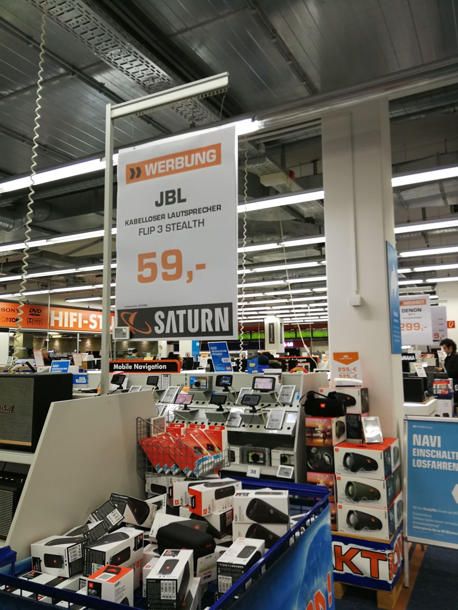(Lokal Essen Saturn) JBL Flip 3 Stealth Edition